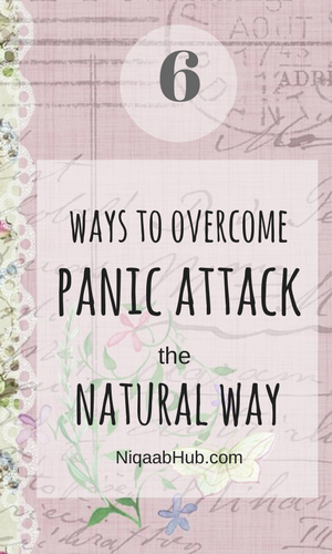 6 Ways to overcome panic attack the natural way
