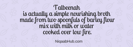 Talbina - Best Comfort Food For Sadness or Depression The Sunnah Way