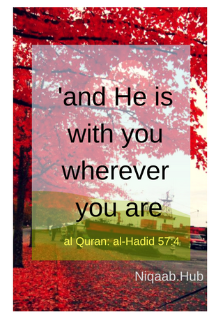 And He is with you wherever you are