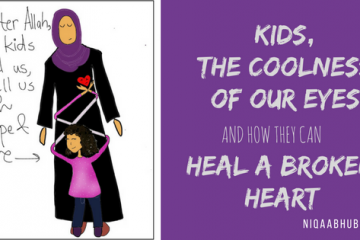 Kids, The Coolness of Our Eyes : It Can Heal A Grieving Heart